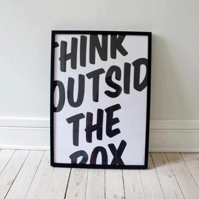 Thinking Outside The Box. Do You?