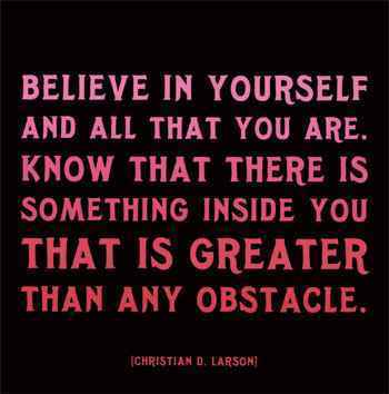 Believe In Yourself